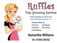 RUFFLES CANINE BEAUTICIAN AND DOG GROOMING SERVICE